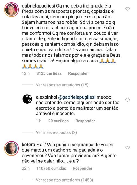 """Após morte de cachorro espancado, famosos invadem página de supermercado e protestam: """"Sejam humanos!"""""""
