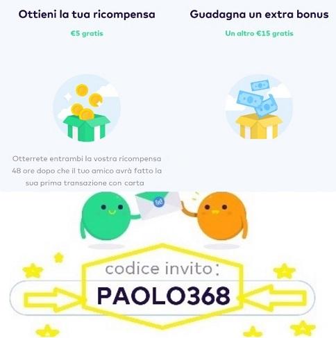 MONESE App gratuita regala fino a 20 Euro in denaro + altrettanti € SENZA LIMITI x inviti! 0-Invito20-Moneser