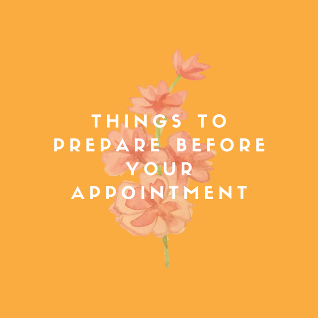 Things-to-Prepare-Before-Your-Appointment