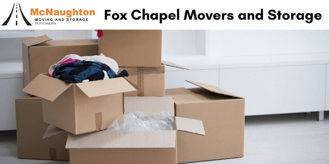 Fox Chapel Movers and Storage