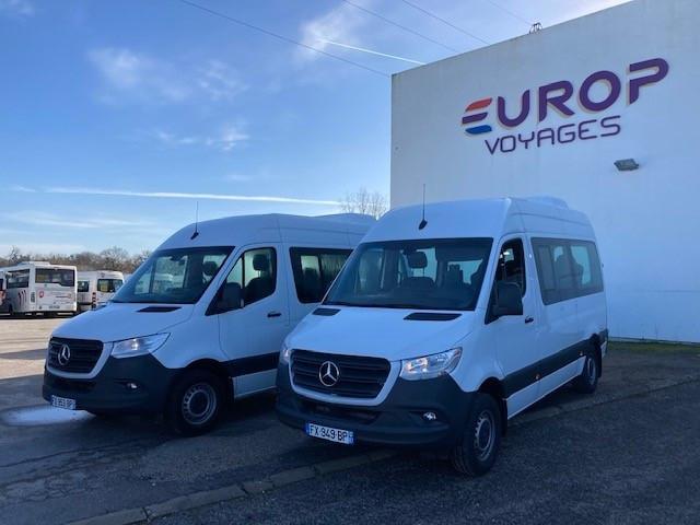 Deux Sprinter Mobility pour Europ Voyages Sprintermobilityeuropvoyages2