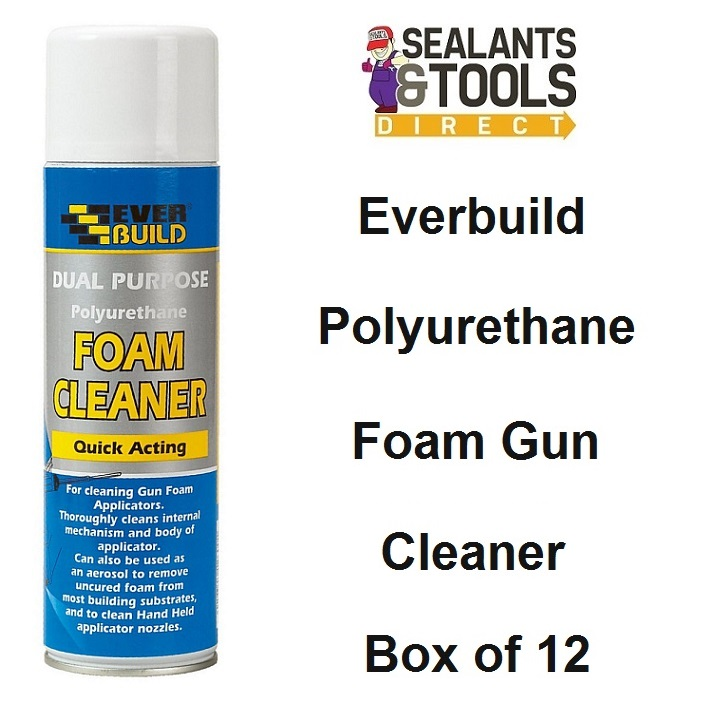 Everbuild Expanding PU Foam Gun Cleaner GFSC5 Box of 12
