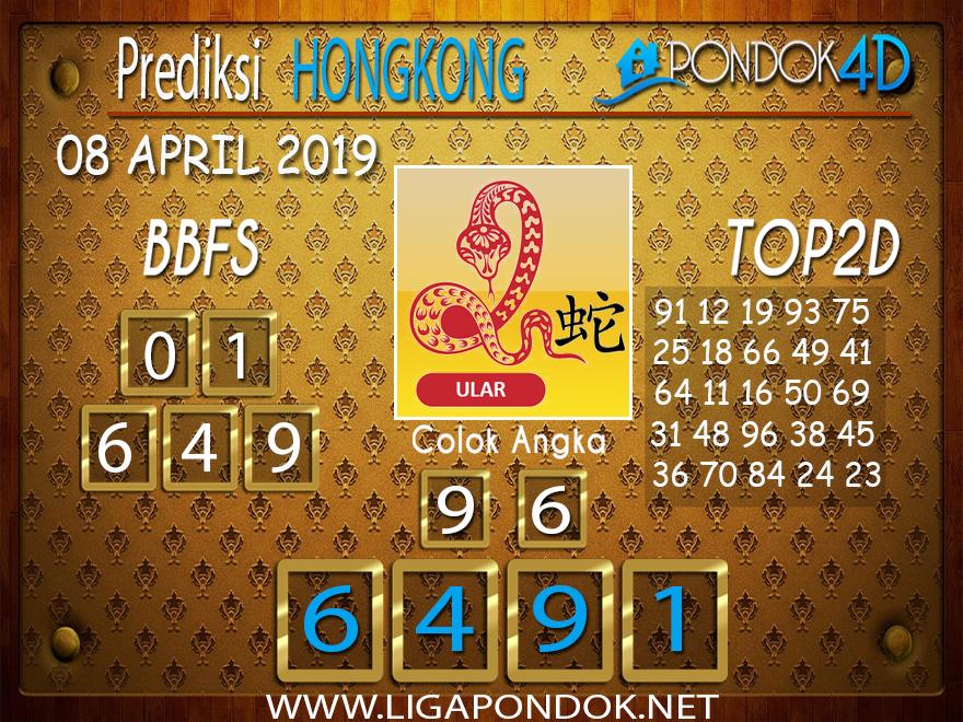 Prediksi Togel HONGKONG PONDOK4D 08 APRIL 2019