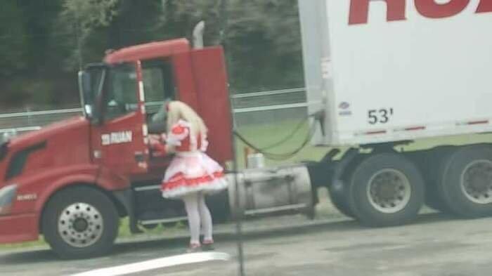 Как так-то? truck, грузовики, дальнобойщики, подборка, прикол, юмор