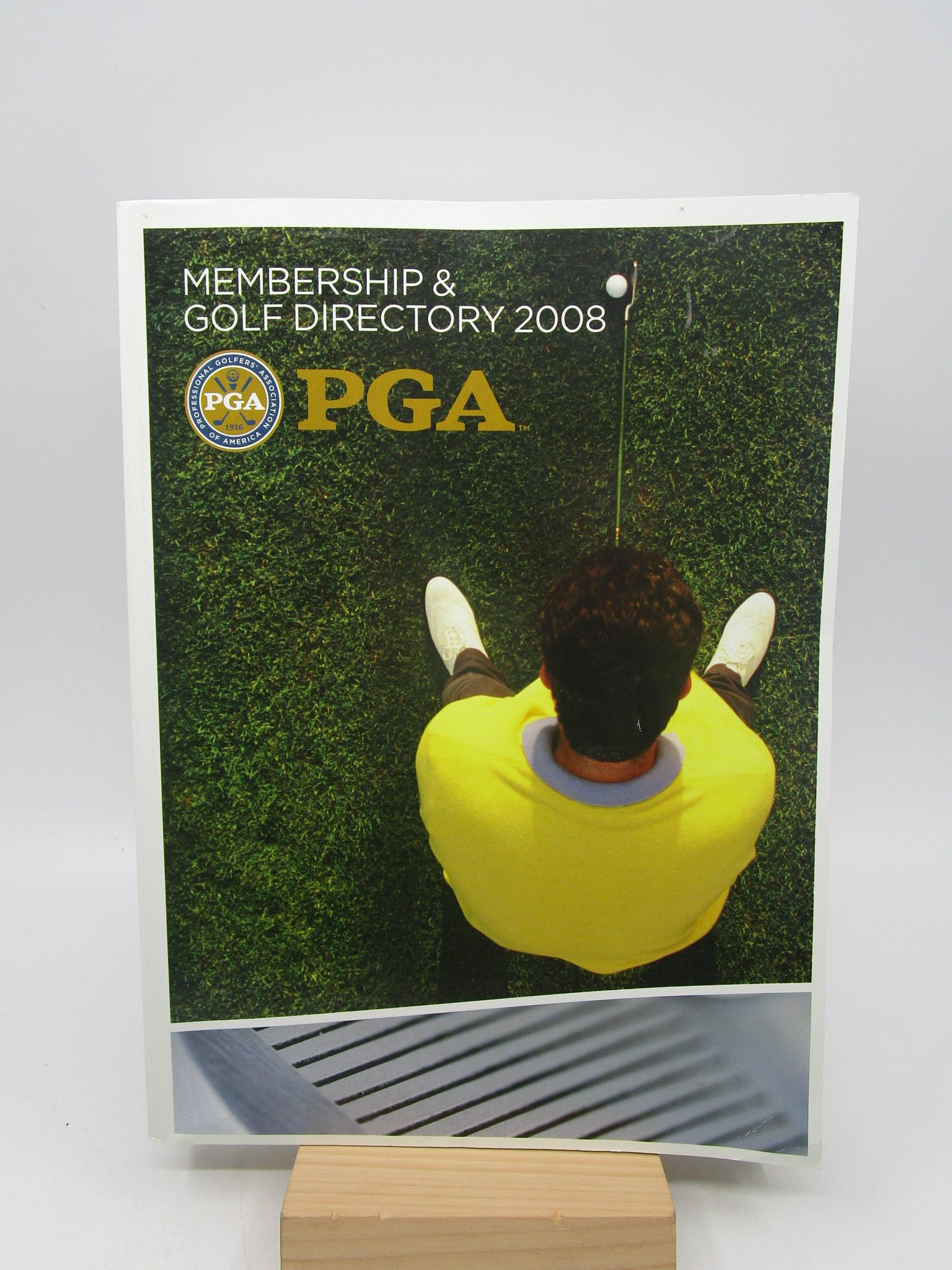 Image for PGA 2008 Membership and Golf Directory