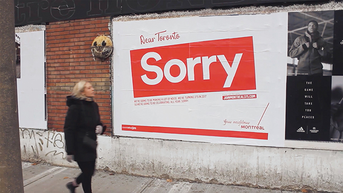 Apology advertising