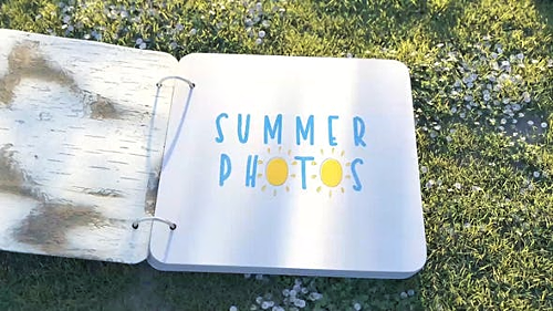 Summer Photo Album 24115694 - Project for After Effects (Videohive)