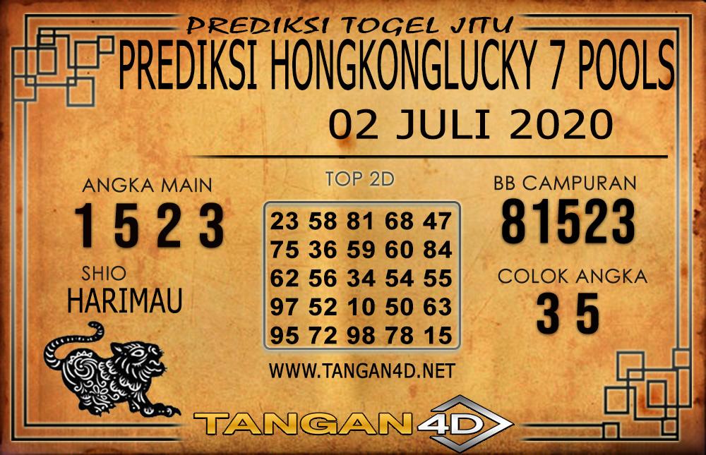 PREDIKSI TOGEL HONGKONG LUCKY 7 TANGAN4D 02 JULI 2020