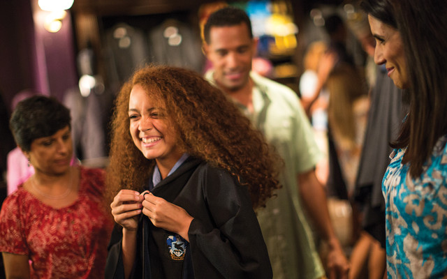 Robes at the Wizarding World of Harry Potter