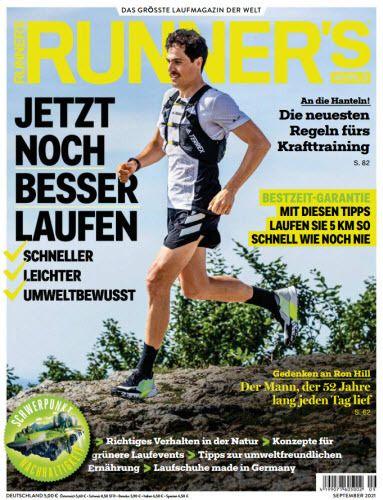 Cover: Runners World Magazin No 09 2021