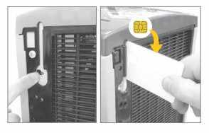 chip card sblocco erogatore acqua frizzante