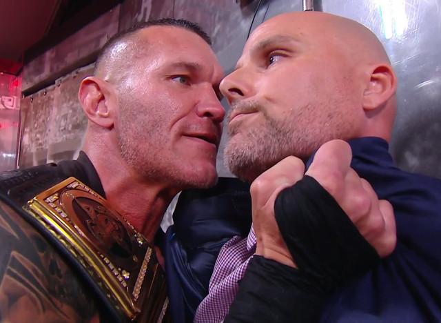 Randy Orton que defenderá su título ante Drew McIntyre