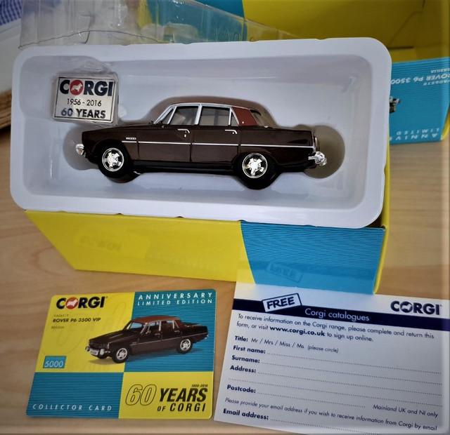 Volvo p1800s replica box dinky toys 1968