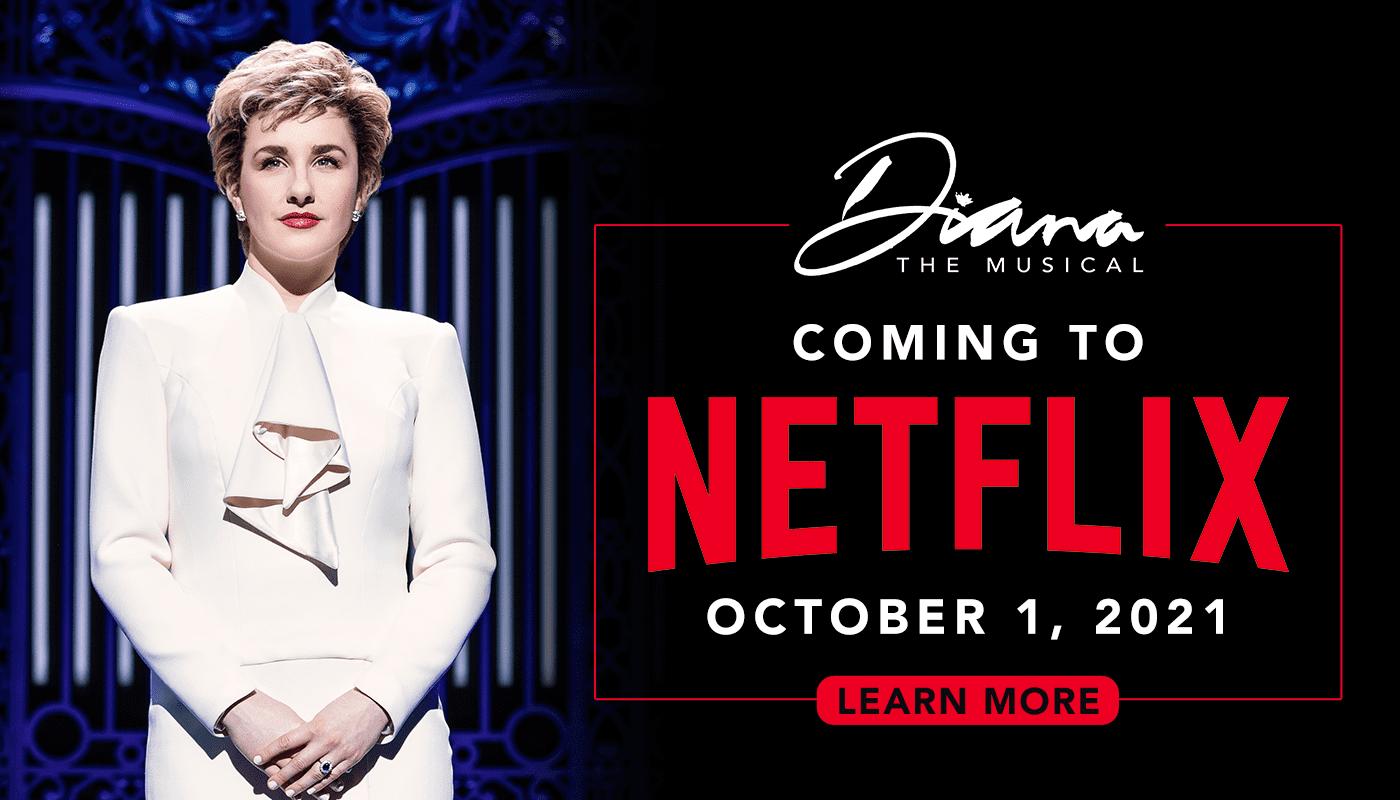 """""""Diana: The musical"""" il 1° ottobre su Netflix"""