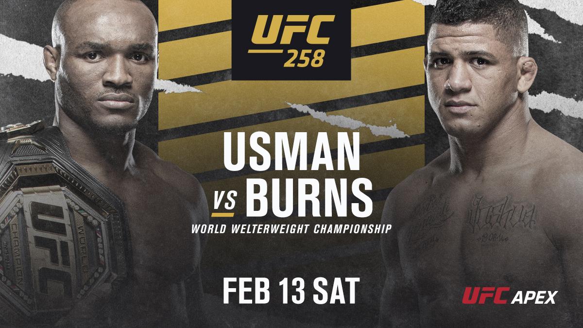 Официално: Усман и Бърнс оглавиха UFC 258