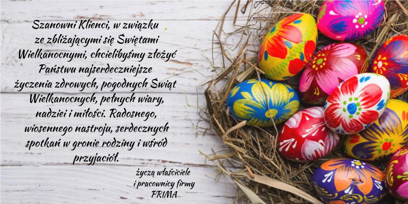 Życzenia Wielkanoc 2019