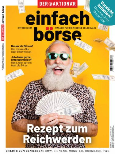Cover: Der Aktionär Einfach Börse Magazin No 10 Oktober 2021