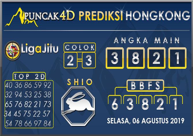 PREDIKSI TOGEL HONGKONG PUNCAK4D 06 AGUSTUS 2019