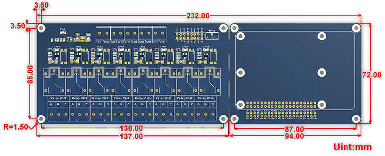 RPi-Relay-Board-B-size