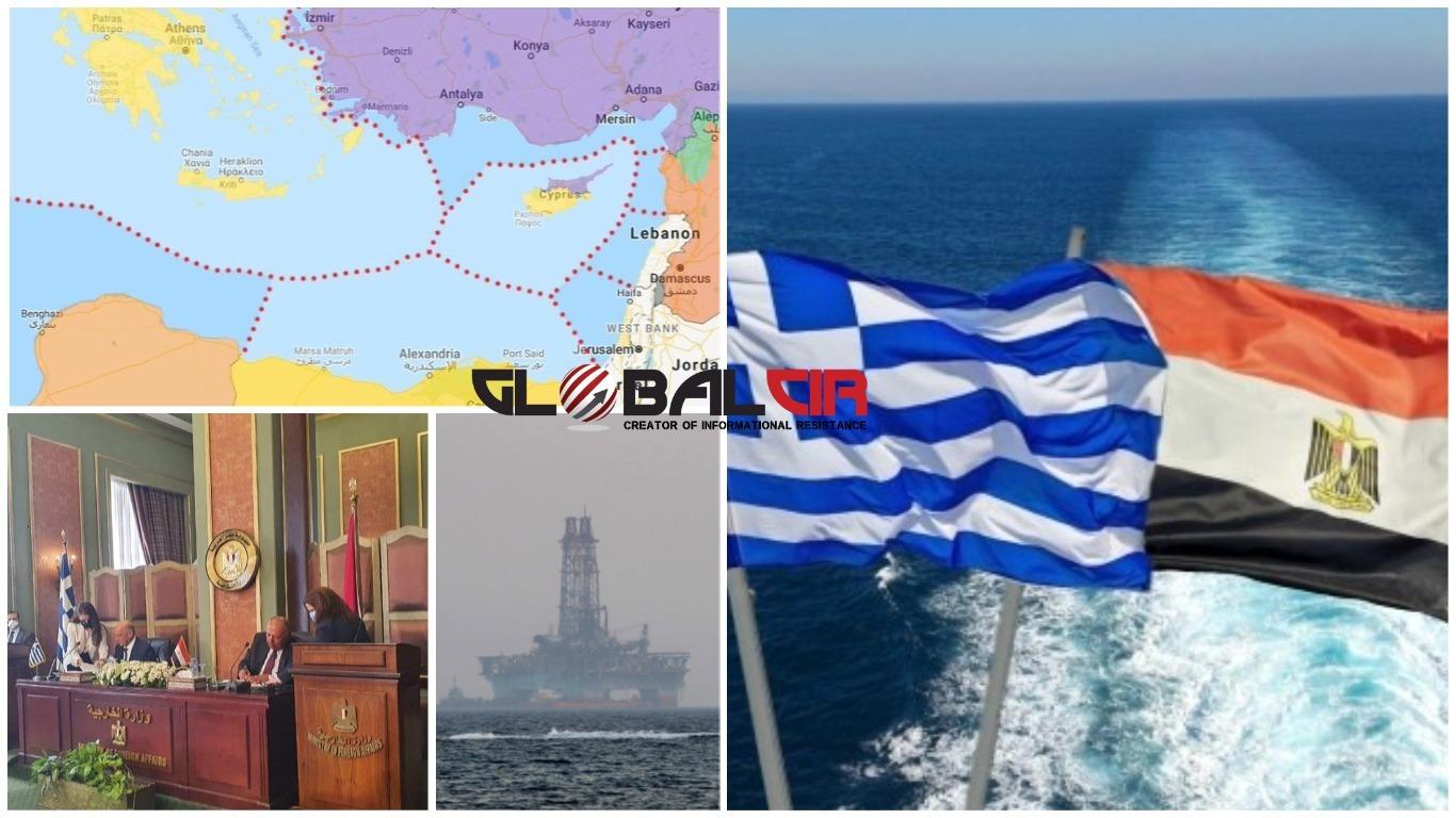 DOK TRAJE BLOKADA IZGRADNJE 'SJEVERNOG TOKA 2':  Egipat, Grčka i Kipar potpisali pomorski sporazum da bi se suprotstavili Turskoj!