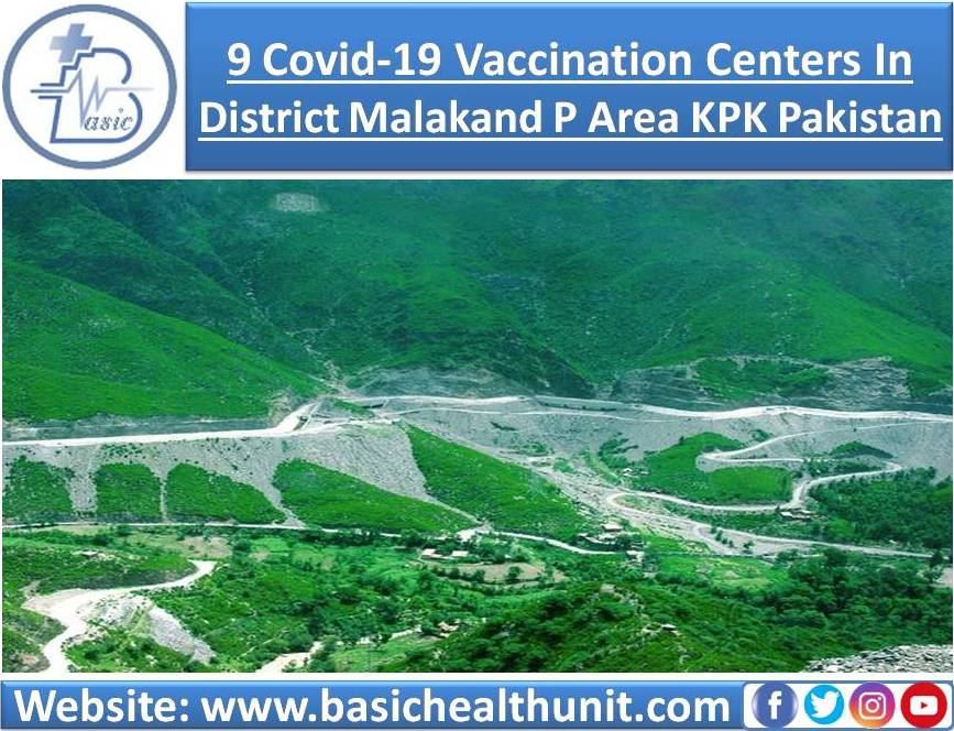 9 Covid-19 Vaccination Centers In District Malakand P Area KPK Pakistan