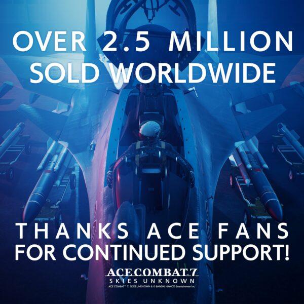 """《空戰奇兵7:未知天際》的""""第二週年更新""""於1月19日發布,銷售額突破250萬美元 Ace-Combat-7-01-18-21-002-600x600"""