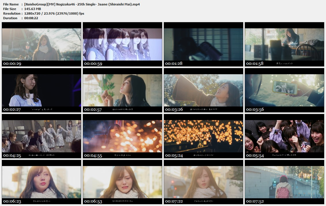 Naisho-Group-MV-Nogizaka46-25th-Single-Jaane-Shiraishi-Mai-mp4