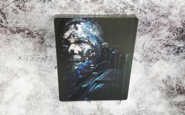 DEATH_STRANDING - PC《死亡擱淺》中文鐵盒實體版正式發售,精裝鐵盒開箱展示 03