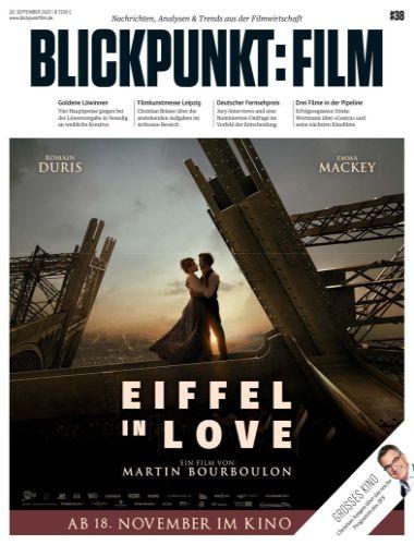 Cover: Blickpunkt Film Magazin No 38 vom 20  September 2021