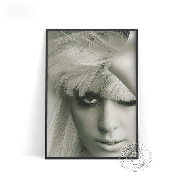 Lady-Gaga-P-ster-blanco-y-negro-para-muj