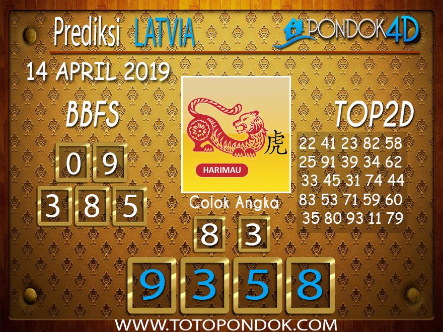 Prediksi Togel LATVIA PONDOK4D 14 APRIL 2019