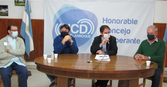 Regionales: Larroque: El Comité de Emergencia Municipal llevó tranquilidad a la comunidad por el caso positivo de coronavirus
