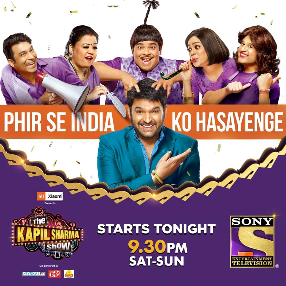 The Kapil Sharma Show 18th August 2019 Full Show WEB-DL x264 500MB 720p