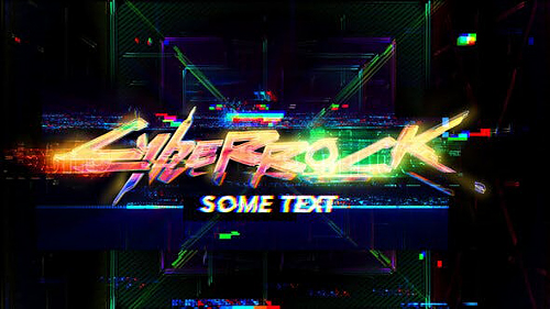Glitch Logo 27299024 - Project for After Effects (Videohive)