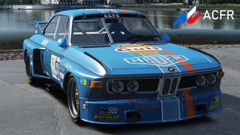 Championnat BMW CSL 3.5 Gulf1