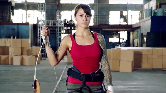 THE MAKING OF A TOMB RAIDER Documentary Sees Stuntwoman Clair Marie Recreate Lara Croft's Craziest Stunts