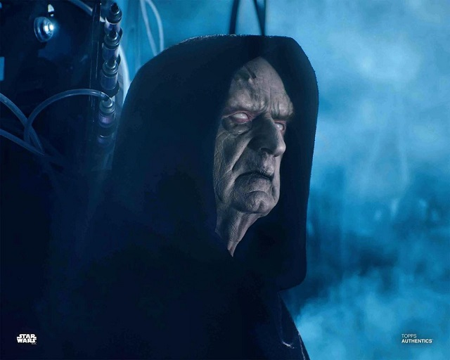 Star Wars The Rise Of Skywalker Still Reveals A Detailed Look At The Cloned Emperor Palpatine