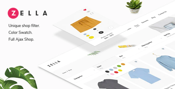 ThemeForest - Zella v2.0.8 - WooCommerce AJAX WordPress Theme - RTL support - 22688180