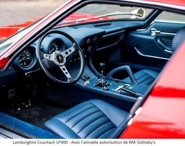 Lamborghini Miura SV et Countach LP 400 «Periscopio» atteignent des prix records à la vente RM Sotheby's Paris 579669-v2
