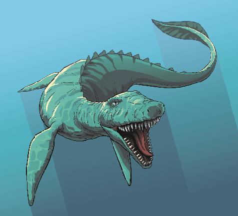 Kawaïen Dinosaure
