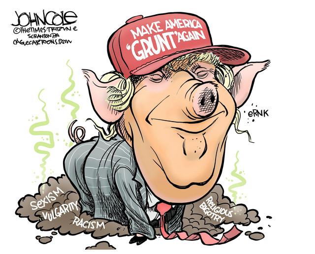 Make-America-Grunt-again