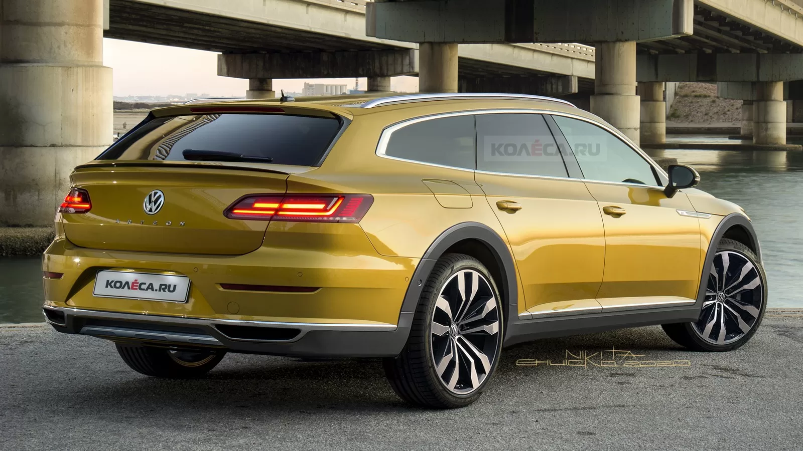 Volkswagen Arteon /Shooting Brake Facelift (2020) 23