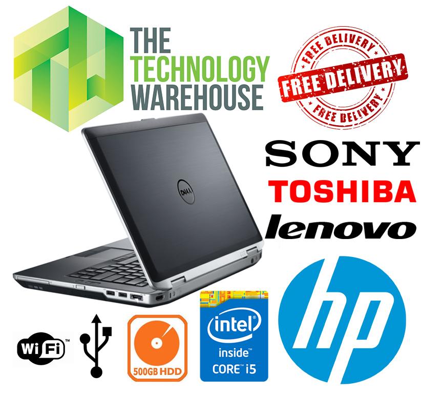 Details about Dell HP Sony Laptop - Intel i5 CPU 8GB Ram 240GB SSD WIFI  Windows 10 - UK Sale