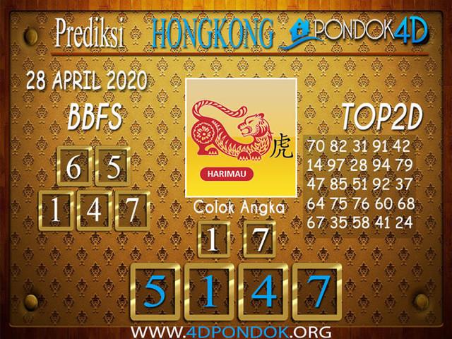 Prediksi Togel HONGKONG PONDOK4D 28 APRIL 2020