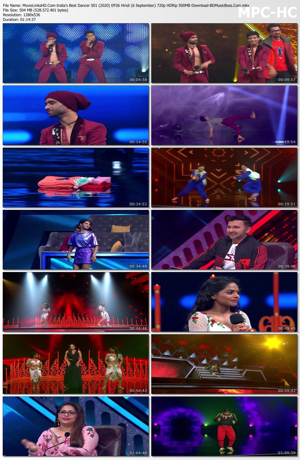 Movie-Links-HD-Com-India-s-Best-Dancer-S01-2020-EP26-Hindi-6-September-720p-HDRip-500-MB-Download-BD