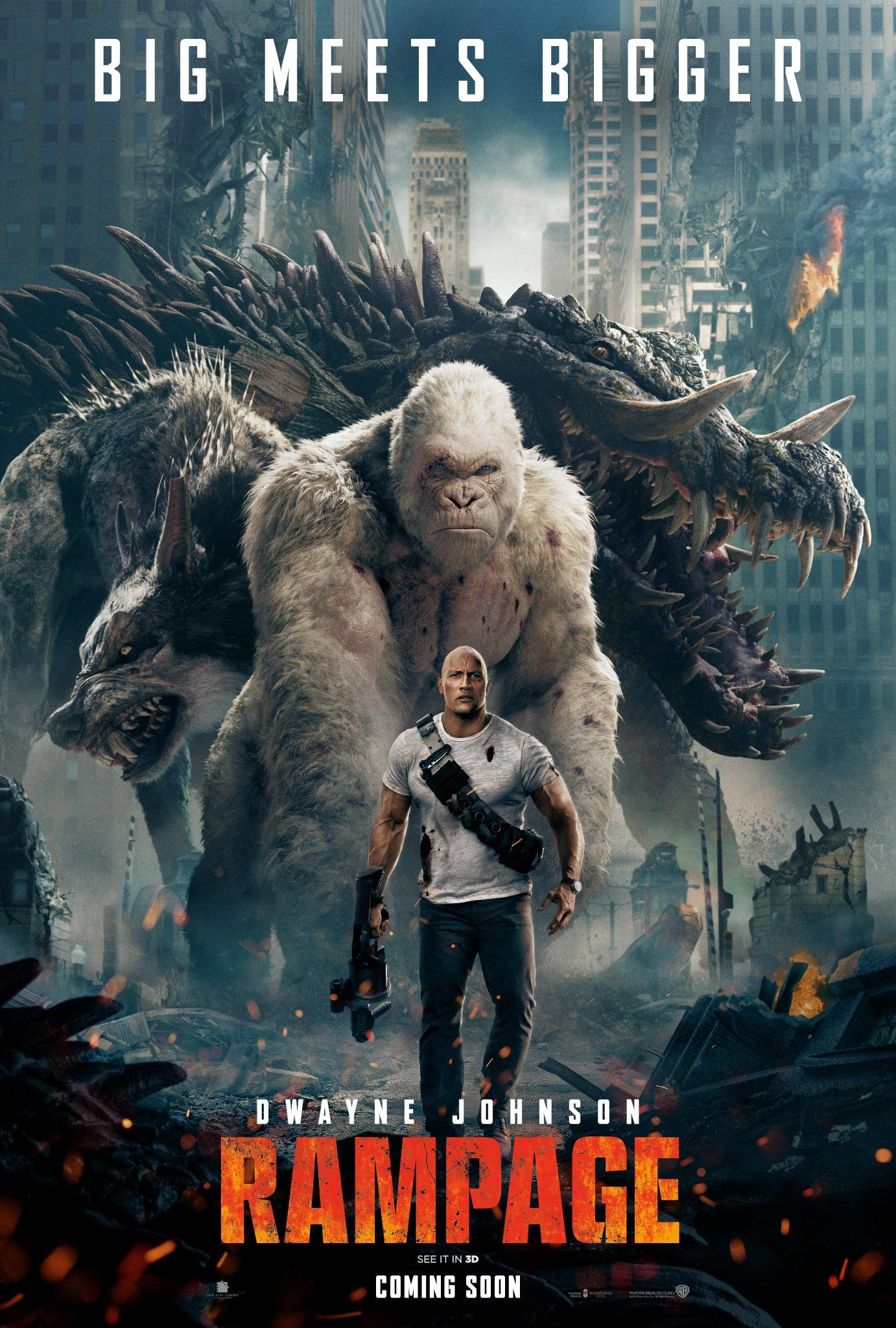 Rampage (2021) Hindi Dubbed Movie HDRip 720p AAC