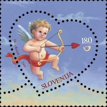 Slovenia stamps GREETING-STAMP-3