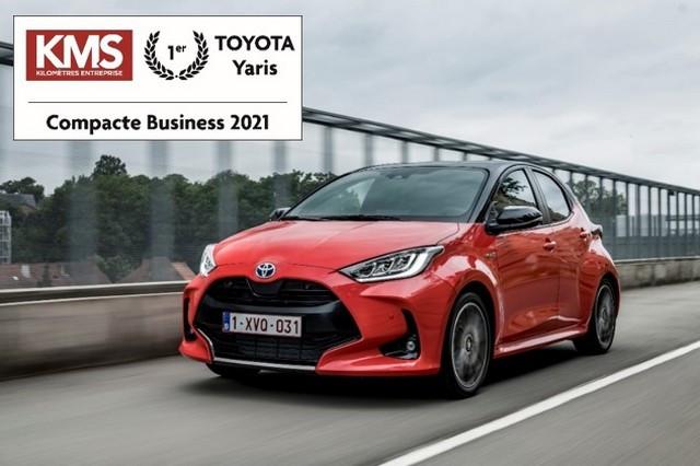 La Nouvelle Toyota Yaris élue « Compacte Business » de l'année 2021 Compactebusinesskms