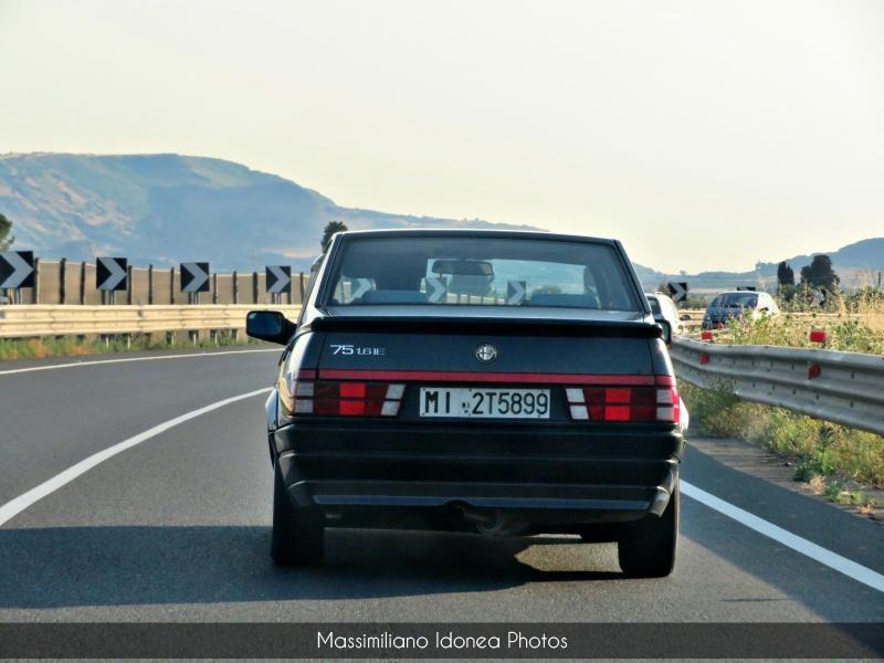 avvistamenti auto storiche - Pagina 7 Alfa-Romeo-75-IE-1-6-105cv-91-MI2-T5899-157-982-21-9-2019-2