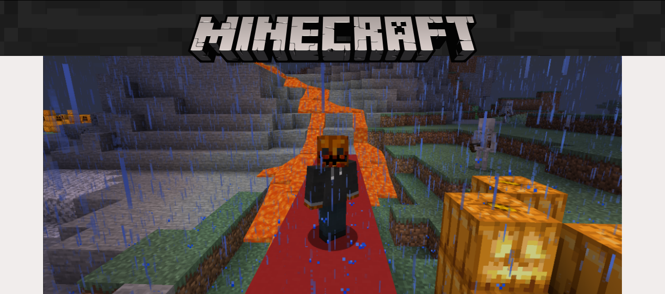 Minecraft, one of the most recommended games to play on PC for free online